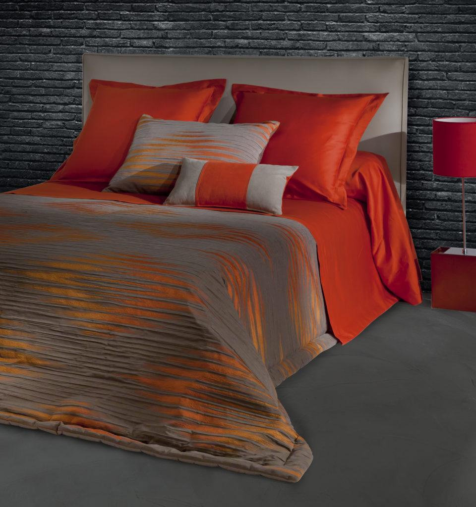 couvre lit azteque michel viaud couturier de la maison. Black Bedroom Furniture Sets. Home Design Ideas