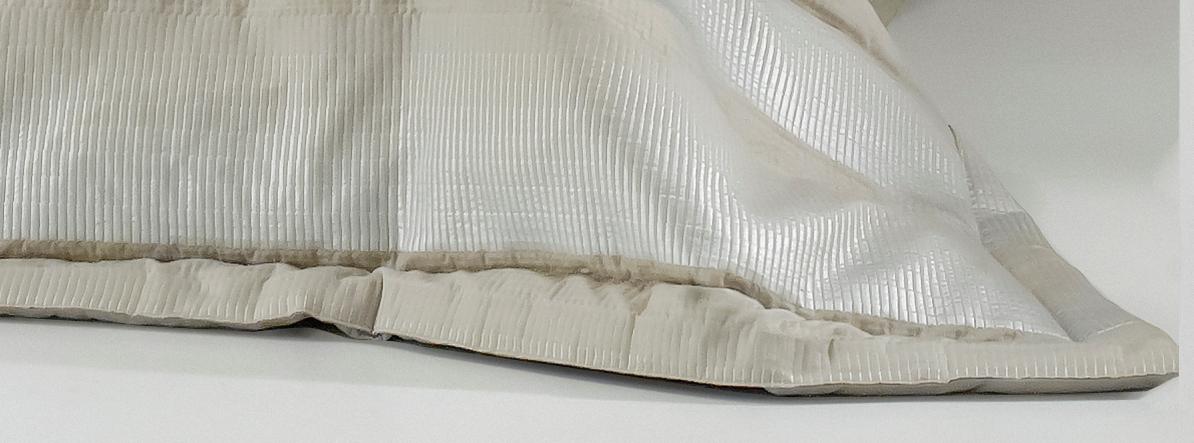 couvre lit danube michel viaud couturier de la maison. Black Bedroom Furniture Sets. Home Design Ideas