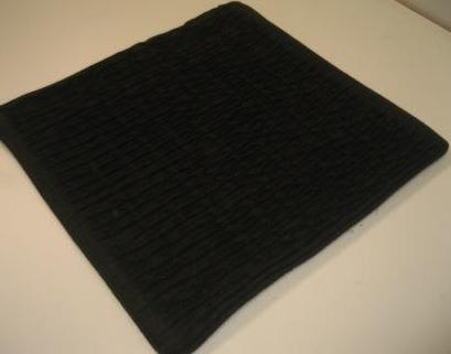 HOUSSE COUSSIN ECORCE ANTHRACITE